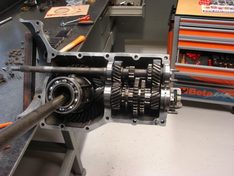 Volkswagen Type 1 splitcase vw splitcase parts pinion bearing vw splitcase 111 307 375