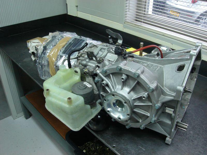 Audi R8  R Tronic versnellingsbak revisie