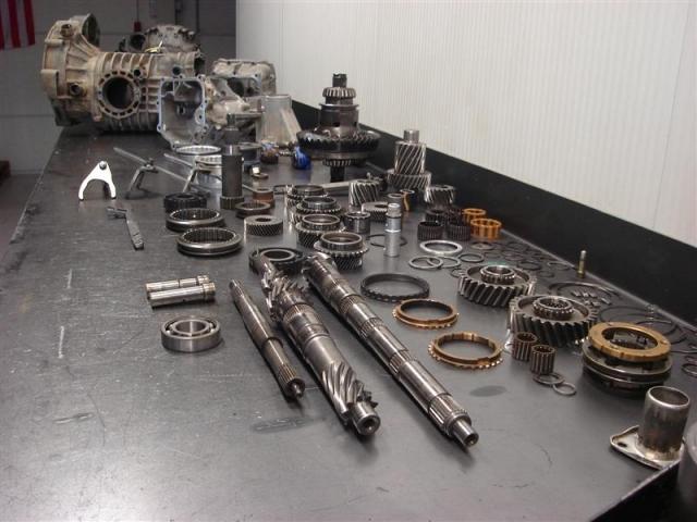 Volkswagen syncro Type 2 - T3 versnellingsbak - boite - transmission